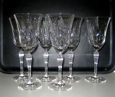 6 X Edle Weingläser Weinkelche Geschenk Kristall Walther Glas Braunau Qualität