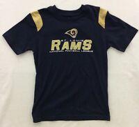 NFL Boys Team Apparel St Louis Rams Shoulder Strip T-Shirt