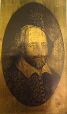 William Shakespeare - intaglio vintage artwork