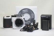 Pentax K K-01 16.0MP Digital Camera Black White Body Only