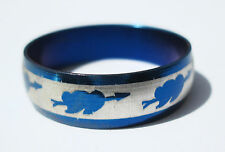 BlueHeart  Stainless Steel Ring - Size 10.5  (20.2 mm)