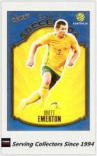 2009-10 Select A League Soccer Card Socceroos S11: Brett Emerton