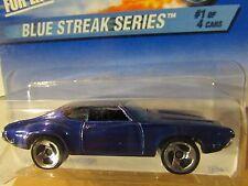 Hot Wheels Olds 442 Blue Streak Series
