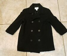 Strasburg girls wool double breasted pea coat sz 6