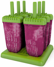 Mamasicles Popsicle Ice Pop Molds - 6 Piece, Green
