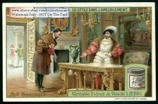 Renaissance Style Furniture c1909 Trade Ad Card