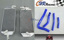 L&R aluminum radiator + hose Suzuki RM 250 RM250 2-stroke 1996 1997 1998  BLUE