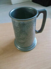 Hammered Pewter Mug