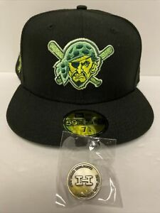 Hat Club Exclusive AUX Pack Wiz Khalifa Pittsburgh Pirates 2006 ASG Patch 7 5/8