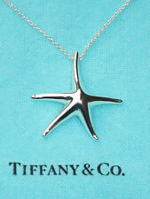 Tiffany & Co Elsa Peretti Large Sterling Silver 28mm Starfish Necklace