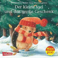 Maxi-Pixi Nr. 141: Der kleine Igel und das große Geschenk M. Christina Butl ...