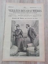 Journal illustré 1909  - Veillées des Chaumières - 19 Juin - Fierté de Race...