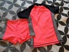 Girls Swimsuit Set Years 7, Next, brand new