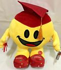 RED HAT Graduation Emoji Pillow Plush 13.5'' INCHES with SOUND  Light Up