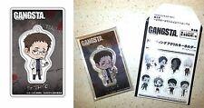 GANGSTA. Trading Acrylic Key Chain Dr. Theo Canaria Bandai Visual Licensed New