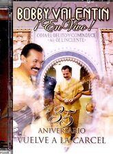 "BOBBY VALENTIN - ""EN VIVO"" - VUELVE A LA CARCEL - CD 35 ANIVERSARIO - DVD"