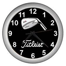 Golf Titleist Logo Wall Clock