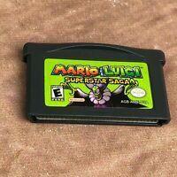 Mario & Luigi: Superstar Saga Nintendo Game Boy Advance Game