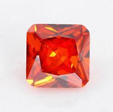 Padparadscha Sapphire 1.70CT 6x6MM Cushion Cut AAAAA VVS Loose Gemstone