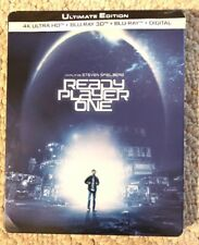 4K UHD & 2D 3D Blu-ray READY PLAYER ONE Ultimate Edition 3 Disc Steelbook