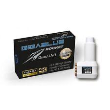 Gigablue Rocket Quad ; ultifeed LNB 40mm Feed 1db 0 3d 4k Full Hd Listo