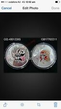 2012 2pc china opera mask 3rd issue silver coin set、coa box