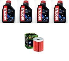 KIT OLIO MOTUL 4LT 3000 10W40+FILTRO HF132 Suzuki DR200 S-L5,L6  15-16