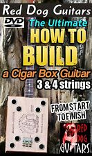 Build Cigar Box Guitar DVD vintage 3 & 4 string great for your parts kit or amp