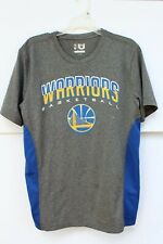 Warriors Dri Fit Tshirt Mens Large Polyester Short Sleeve Excellent Basketball