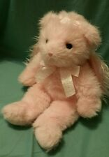 "Ty Angel Pink Sparkle Teddy Bear Fairy Plush Wings 13"" Classic"