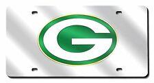 Metal Car Plate,Aluminum Novelty Dark Green License Plate,6 X 12 Inch Yeuss Green Bay Football License Plate,Custom USA American Football Decorative Car Front License Plates