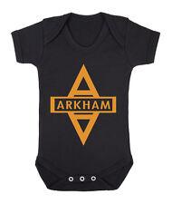 Arkham Ayslum inmate Batman cute funny babygrow bodysuit