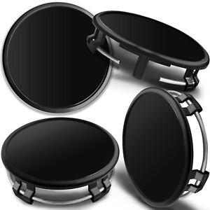 Black Wheel Center Caps 75mm Compatible with Mercedes Benz B66470207/B66470200