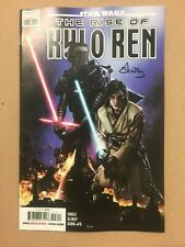 STAR WARS THE RISE OF KYLO REN #3 FIRST PRINTING SIGNED BY WILL SLINEY