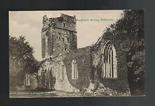 Mint Picture Postcard Ireland County Kerry Killarney Outisde View Muckross Abbey