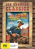40 Guns To Apache Pass (DVD) Audie Murphy [Region 4] NEW/SEALED
