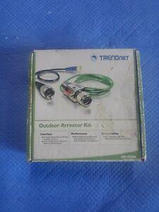 Outdoor Arrestor Kit - TRENDnet TEW-ASAK OPEN BOX UNUSED