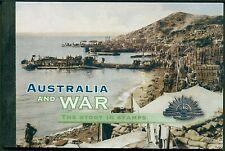 AUSTRALIË POSTZEGELBOEKJE 210 UIT 2001 100 JAAR AUSTRALISCHE KRIJGSMACHT.