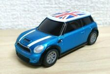 DyDo BMW MINI COOPER S BLUE Pullback Car Toy Model Approx 1/64