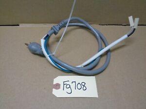 GE  Microwave  OEM Power Cord WB18X27449 -  FG708