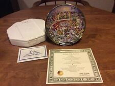 "The Franklin Mint McDonalds ""Golden Moments� Collectible Porcelain Plate!"