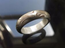 Mokume Gane Ring Mix Metal in Size 6