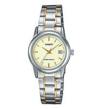 Casio LTP-V002SG-9AUDF Stainless Steel Watch for Women