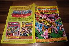 Stan Lee: Marvel-Comic Sonderheft # 28 / 1986 -- CAPTAIN AMERICA+DING // HE-MAN
