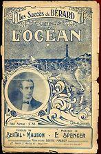 PARTITION ANCIENNE L OCEAN MANUEL