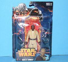 HASBRO Star Wars Saga Legends Action Figure SL01 SW EPIII MACE WINDU MOC RARE