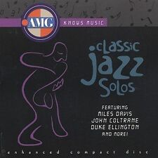 All Music Guide: Classic Jazz Solos by Various Artists (CD, Oct-2000)