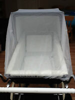 INSECT NET for SILVER CROSS COACH BUILT PRAM * NEW * Balmoral XL Size