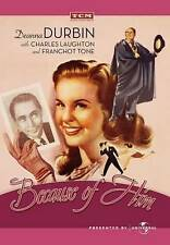 Because of Him (DVD, 2010) Deanna Durbin, Charles Laughton, Franchot Tone NEW