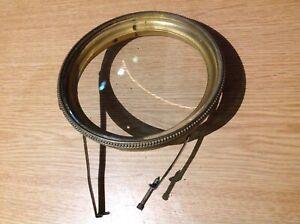 ANTIQUE FRENCH CLOCK BEZEL BEVELLED GLASS SPARE PARTS for 107mm Apperture